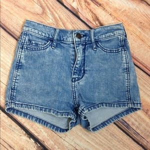Hollister Denim Shorts Size 00 Waist 23